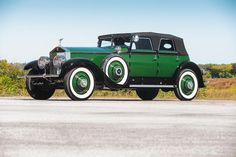1930 ROLLS-ROYCE PHANTOM I TORPEDO TRANSFORMAL PHAETON