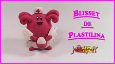 Como Hacer a Pokémon Blissey de Plastilina/Porcelana Fria/How to make Po...