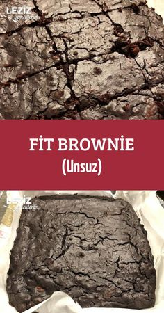 Fit Brownie - Without Meals - Dessert Recipes Healthy Diet Recipes, Healthy Salads, Healthy Desserts, Fun Desserts, One Bowl Brownies, Healthy Brownies, Avocado Dessert, Nutrition Education, Diet And Nutrition