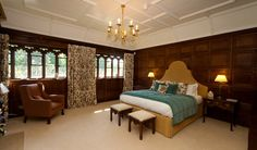 """Rooms - Hever Castle: Eggsy's room in the story """"Triad"""""""