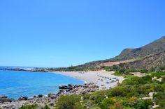 Paleohorasta kymmenen minuutin ajomatkan päässä sijaitseva Sandy Beach palkitsee vaivannäön. Ranta on ns. hyvin tunettu salaisuus kauniilla alueella. #Aurinkomatkalla #Paleohora #Kreeta #Kreikka #Aurinkomatkat #Aurinkojahti