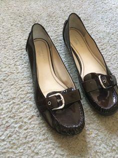 3e53f1da0bf Anne Klein Iflex Brown Flats Size 12m  AnneKlein  BalletFlats  Casual Brown  Flats
