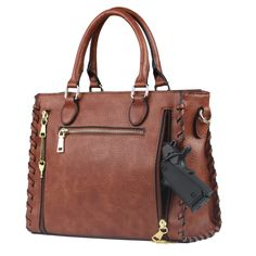 Lady Conceal Locking Laced Ann Satchel Concealed Carry Purse a855fdd233cf0