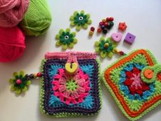 Crochet Baby Blanket Tutorial, Crochet Kids Scarf, Crochet Beanie Pattern, Crochet For Kids, Ravelry Crochet, Crochet Gratis, Free Crochet, Pouch Pattern, Purse Patterns