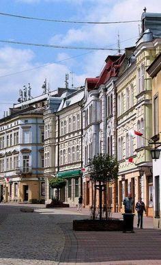 Old town of Tarnów, Poland (by Krzysztof Dobrzański)