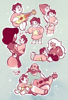 Young Steven with fam