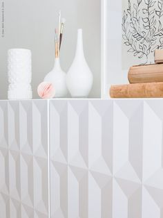 Oh yes, the new stylish and modern pattern on Ikea's cabinet – Herrestad makes it a statement furniture. Ikea Inspiration, Hallway Inspiration, Interior Inspiration, Interior Design Courses, Home Interior Design, Interior Decorating, Ikea Furniture, Furniture Design, Hacks Ikea