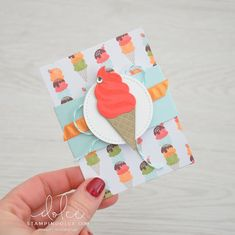 Stampin' Dolce: #TGIFC105 - 2nd Anniversary Celebration (Tasteful Treats). Ice Cream Set, Paper Craft Making, 2nd Anniversary, Treat Holder, Event Calendar, Happy Day, Stampin Up Cards, Cardmaking, Gift Tags