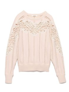 snidel lace embroidered NET tops Sneijder *