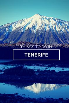 Looking for things to do in Tenerife? Check out our tips! Thank you from Francisco Jesus Saez Muñoz, Tenerife Real Estate Agent, with a focus on properties in the South of Tenerife. Canaries Tenerife, Cool Places To Visit, Places To Travel, Destinations, Holiday Places, Canary Islands, Spain Travel, Beautiful Islands, European Travel