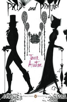 Penguin Classic. Pride and Prejudice. Cover by the fashion illustrator Ruben Toledo.