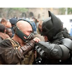 Batman Dark Knight Rises Showdown Gallery Print