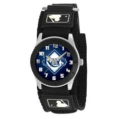 Tampa Bay Rays Rookie Series Youth / Kids Watch  Officially licensed team logo Stainless steel back Adjustable hook & loop strap designed for younger women/girls - Maximum wrist size: 6'' Quartz accu
