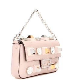 6b7b83738 Micro Baguette pink leather shoulder bag Pink Leather, Baguette, Leather  Shoulder Bag, Luxury