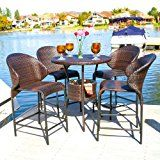 ad: 5 Piece Bistro Set Outdoor Garden Poolside Dining Set  Enjoy the cool breeze and sunset with the Mercury Row Nicodemus Wicker Outdoor 5 Piece Bistro Bar Set with Ice Pail in the summers. The sleek and stylish look of this dining set easily blends with any contemporary outdoor setting.   Company:  Dining Set  List Price:  $8,257.00  Amazon Price:  $8,257.00  https://www.amazon.com/Bistro-Set-Outdoor-Poolside-Dining/dp/B01EAUXVQA?SubscriptionId=AKIAINK752IUT74DHSYQ&tag=outdoor..