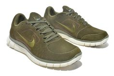 info for 66b55 39f9e Nike Free Run 5.5 Mens Running Shoes Wool Skin For Winter 2013 Green   runningshoes