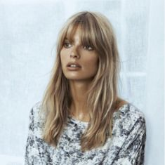 Blonde fringe hairstyles, hairstyles with bangs, hairstyles, blon Hairstyles With Bangs, Pretty Hairstyles, 1960s Hairstyles, Blonde Fringe Hairstyles, Hairstyle Ideas, Blonde Hair Fringe, Blonde Bangs, Easy Hairstyle, Hairstyles Men