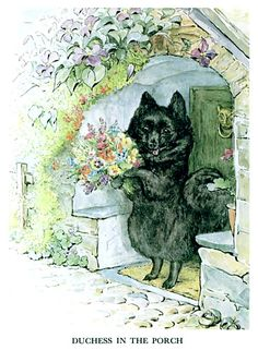 Favorite little illi from Beatrix Potter books The Tale of the Pie and the Patty Pan - Duchess in the Porch