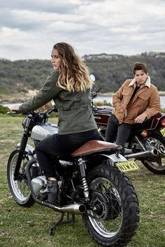 motorcycle style - www.blackbirdmotorcyclewear.com