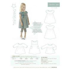 Patron de couture robe enfant Minikrea 20000