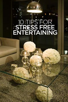 Entertaining is about creating memories and moments that your friends and family will cherish. Here are Colin Cowie's top tips for stress free entertaining: