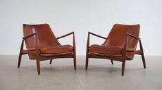 Ib Kofod Larsen Seal Chairs