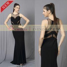 #TOP #TRENDING #sweetheart #sultry #sheer #sleeveless #prom #dress