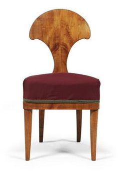 biedermeier. ACCENT CHAIR SOMEWHERE WITH DIFFERENT UPHOLSTERY