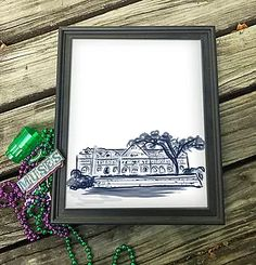 Now that Jazz Fest has come to an end. It appears to be the right time for another New Orleans Gift Guide, featuring Mid City & Uptown landmark art prints.