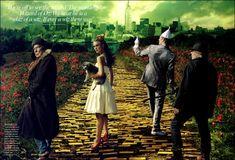 Annie Leibovitz.    Kiera Knightley. Dorothy, The Wizard of Oz.  Gorgeous & Captivating photographic art- in all ways.