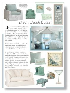"""""""#dreambeachhouse"""" by lillyluvs ❤ liked on Polyvore featuring interior, interiors, interior design, home, home decor, interior decorating, Pier 1 Imports and dreambeachhouse"""