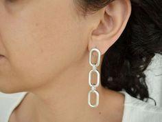 Statement Earrings, Hoop Earrings, Summer Sale, Fancy, Free Shipping, Silver, Etsy, Jewelry, Instagram