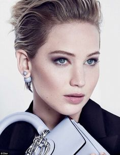 Fourth time around for the French fashion house: Jennifer Lawrence, 24, is starring in another Dior campaign