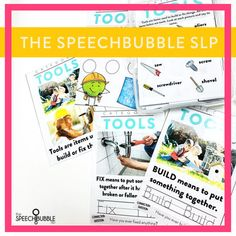 Understanding and demonstrating categorization is a key part of language development. Knowing how things (words, items, etc ) can be grouped is essential to building vocabulary and daily living. This resource helps you to address vocabulary related to commonly taught categories. #slp #speechtherapy #schoolslp