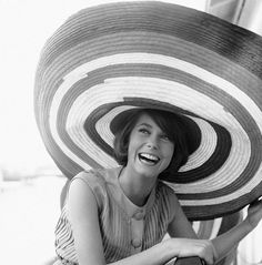 those pleats! that hat! catherine deneuve.