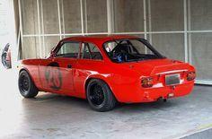 Alfa Romeo GTAm with rear spoiler //