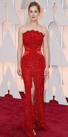 Academy Awards 2015: Arrivals : Rosamund Pike
