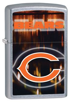Cheer on the Chicago Bears all year around with this spirited Zippo. Personalize your Bears lighter and show your team spirit every day. Go Bears! All Zippo lighters are made with our windproof technology for a reliable flame every time. Cool Lighters, Nfl Bears, Nfl Chicago Bears, 16th Birthday Gifts, Birthday Gifts For Girls, Best Humidor, Sweet Sixteen Gifts, Lighting Logo