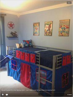 Toddler Bunk Beds with Slide . toddler Bunk Beds with Slide . Boys Super Hero Loft Bedroom Junior Fantasy Loft Bed with Bunk Bed With Slide, Bunk Bed With Desk, Bunk Beds With Stairs, Boys Loft Beds, Loft Bunk Beds, Kid Beds, Boys Bedroom Sets, Boys Bedding Sets, Bedroom Ideas