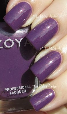 Tru by Zoya Nail Polish is the perfect Radiant Orchid (Color of the Year 2014, PANTONE 18-3224)