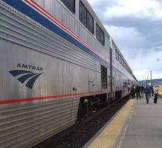 First impressions of the Amtrak & Why you should choose to travel on it!