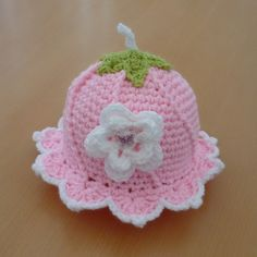 Flower fairy hat age 6-12 month So Cute !