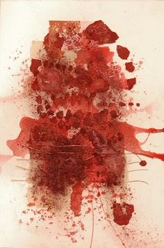 The first why | Marga Dirube artiste couleur rouge contemporary art #artiste #contemporain