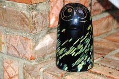 "Toikka glass ""Sooty Owl""for Ittala"