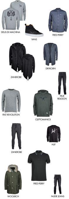 Shoppinglist September: Fred Perry, Deus Ex Machina, Zanerobe  #drykorn #rvlt