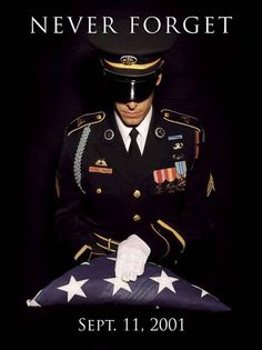 September 11 2001 Never forget 2015 memorial commemoration Army military flag ceremony U.S.