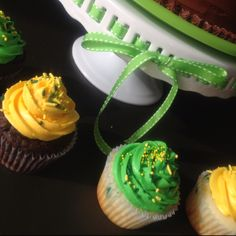 John Deer cupcakes by Art de Chocolat TX