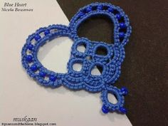 free heart tatting patterns by Nicola Bowersox