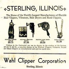 An original Wahl deal sheet Rock Falls, Dry Hands, Pictures Of People, Illinois, Barbershop, Homeland, Gentleman, United States