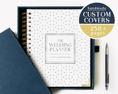 One of our designs from our Signature line of Notable Planners by The Planner Emporium. Customizable wedding planners and momento books. Find it now at http://ift.tt/2sj7kOe!